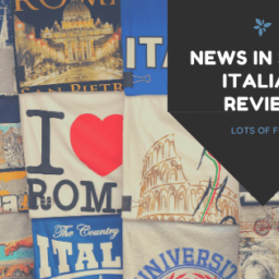 News in Slow Italian Review Banner