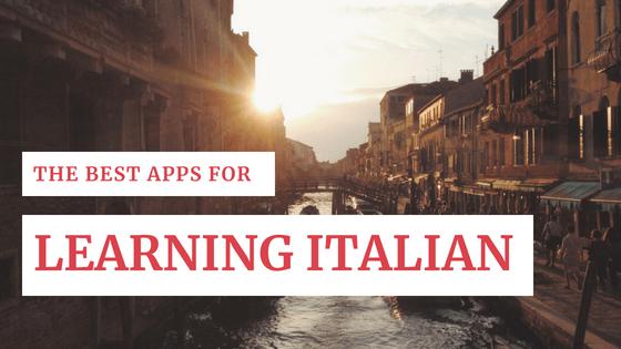 Best apps for learning Italian