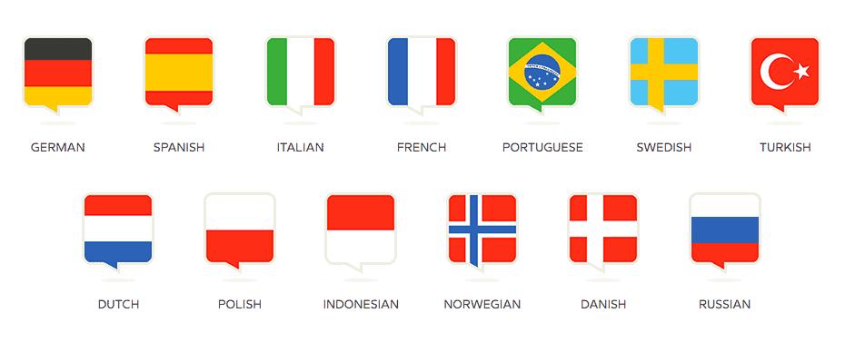 languages on babbel