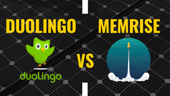 Memrise vs Duolingo - Not An Either/Or Decision