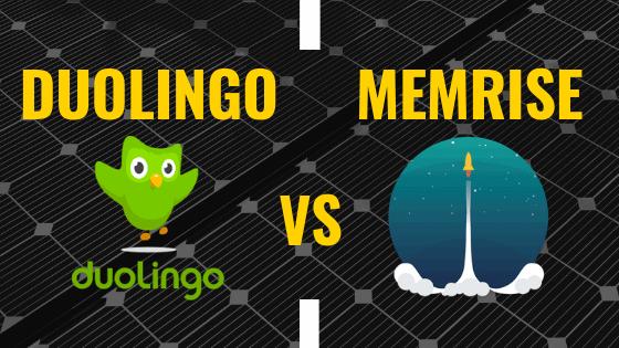 duolingo vs memrise