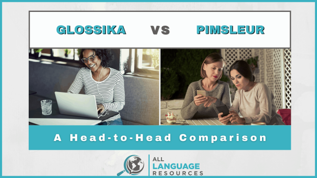 Glossika vs Pimsleur