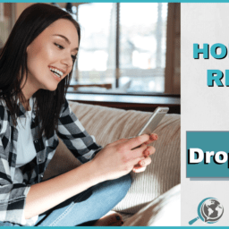 An Honest Review of Drops App With Image of Woman on Phone