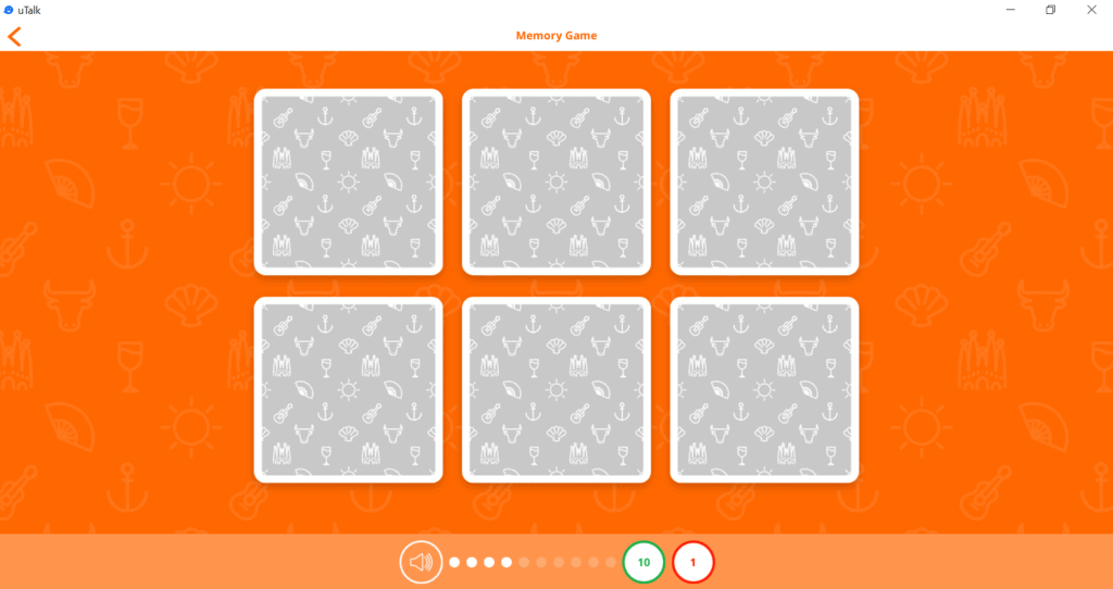 memory game hidden cards