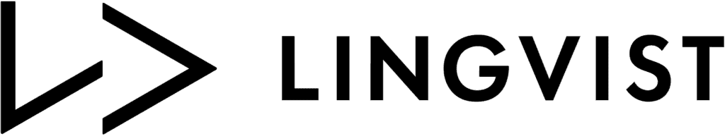 An image of the Lingvist company name and logo.