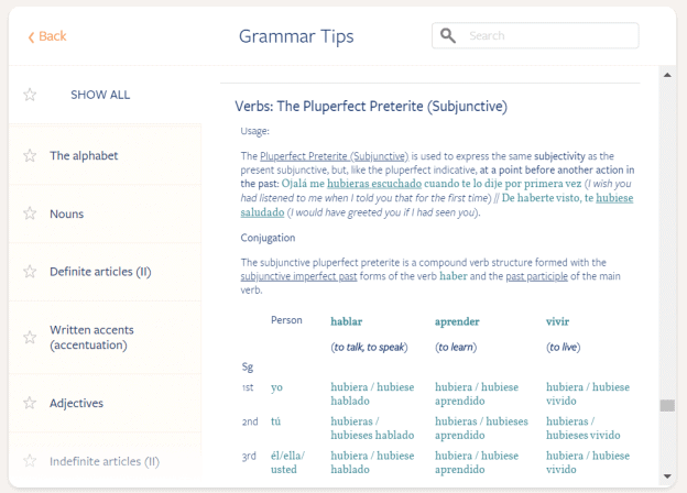 This is the main page of the Grammar Tips section.