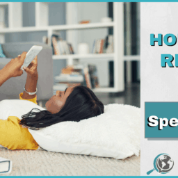 An Honest Review of Speechling With Image of Girl Looking at Phone