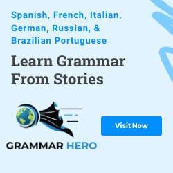 Grammar Hero ad
