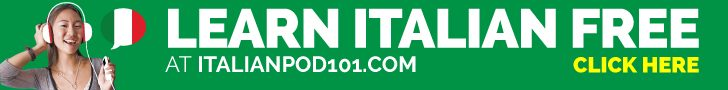 ItalianPod101 Banner
